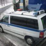 BAG Fahrzeug für Mautkontrolle
