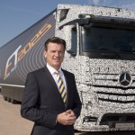 Mercedes-Benz Future Truck 2025 mit Dr. Wolfgang Bernhard