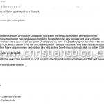Email aus Münster