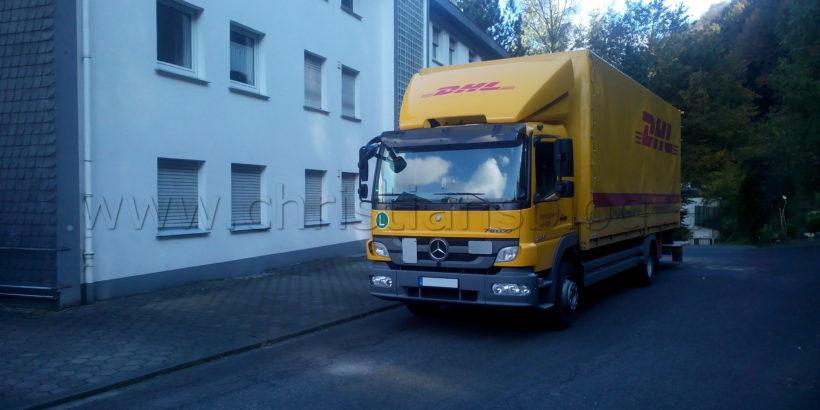 Privatfahrten mit dem LKW
