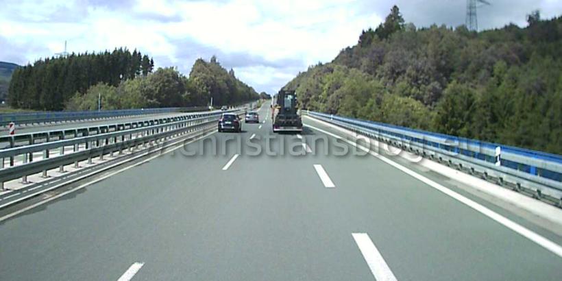 Gefahren auf den Autobahnen